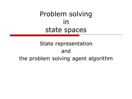 algorithmic problem solving ucd