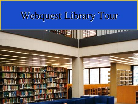 Webquest Library Tour. The Lehman College Library is an academic library containing over a half million books and as many microforms. It serves the campus.