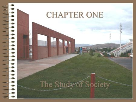 CHAPTER ONE The Study of Society