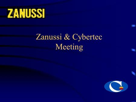 Zanussi & Cybertec Meeting. CYBERTEC - The Planning and <strong>Scheduling</strong> Company Meeting Agenda About Cybertec The CyberPlan Planning & <strong>Scheduling</strong> Suite Cybertec.