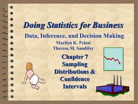 1 Doing Statistics for Business Doing Statistics for Business Data, Inference, and Decision Making Marilyn K. Pelosi Theresa M. Sandifer Chapter 7 Sampling.