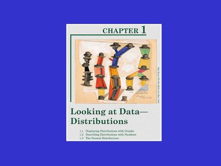 1.2: Describing Distributions