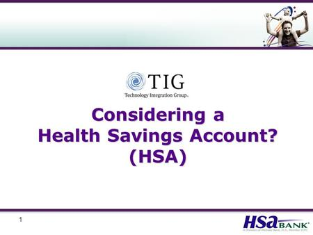 1 Considering a Health Savings Account? (HSA). 2 Who is Eligible for an HSA? Not covered by any other non HSA-compatible health plan Not claimed as a.