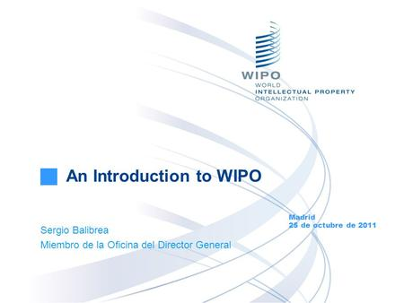 An Introduction to WIPO