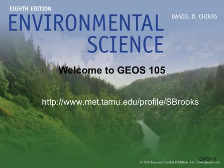 CH01-1 Welcome to GEOS 105