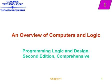 An Overview of Computers and Logic