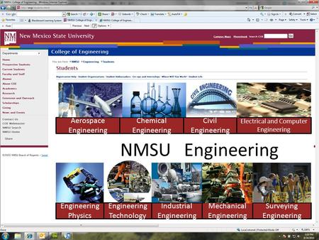 Aerospace Engineering Chemical Engineering Industrial Engineering Mechanical Engineering Electrical and Computer Engineering Surveying Engineering Engineering.