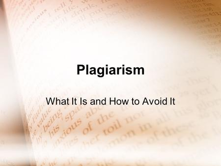how to avoid plagiarism in academic writing Plagiarism has always concerned  at times diverting them from the work of developing students' writing,  plan activities—like close examinations of academic.