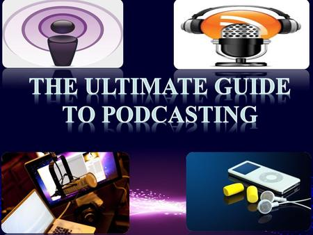 What is Podcasting is a digital recording of a radio broadcasting or program that is made available on the internet. This recording is downloaded to a.