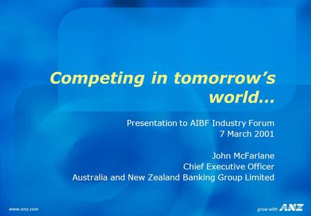 Bridging IT implementation with ANZ's organisational culture
