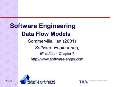 structured analysis in software engineering pdf