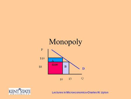 Lectures in Microeconomics-Charles W. Upton Monopoly.