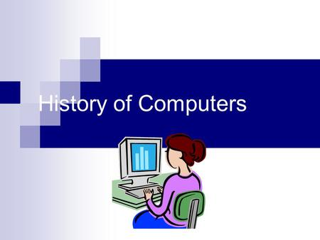 History of Computers. Who invented the computer? This question without a simple answer. The real answer is that many inventors contributed to the history.