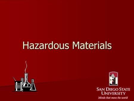 Hazardous Materials. Chemical Inventory Each area must maintain a complete, accurate and up to date chemical inventory. Each area must maintain a complete,