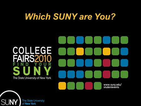 Educational Opportunity Program Which SUNY are You?