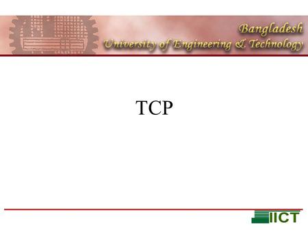 TCP. Learning objectives Reliable Transport in TCP TCP flow and Congestion Control.
