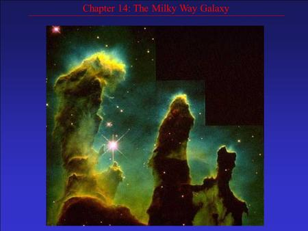 Chapter 14: The Milky Way Galaxy. Even our unaided eyes tell us that we live in some kind of disk structure. We see the Milky Way in the summer time as.