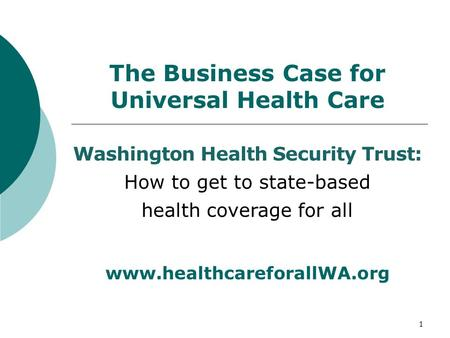 business case health care Construction health care agriculture maritime business value presentation american industrial hygiene association (aiha), 2017 reviews the knowledge and skills necessary for persons to make a business case for interventions to reduce or eliminate adverse workplace exposures.