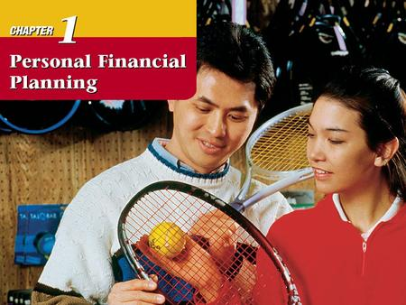 Chapter 1 Personal Financial Planning