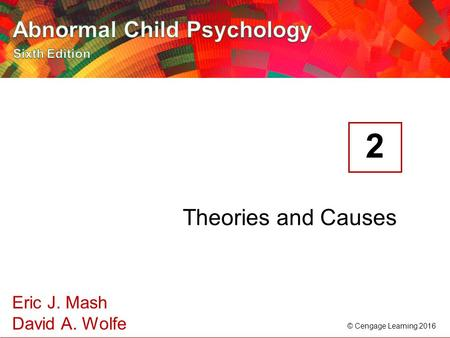 2 Theories and Causes.