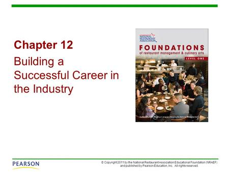 Chapter 12 Building a Successful Career in the Industry.