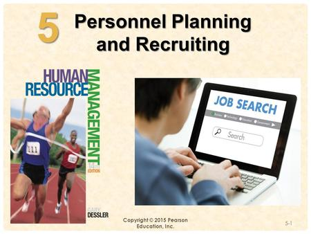 5 Personnel Planning and Recruiting