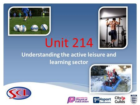 Understanding the active leisure and learning sector