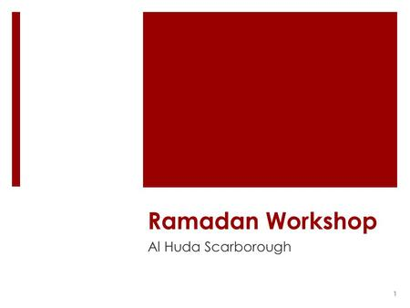 How To Welcome Ramadhan Dr Muhammad S Anwar Redbridge