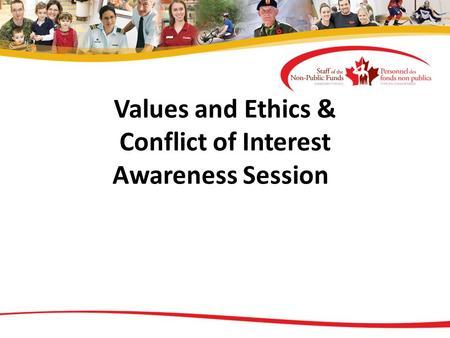 conflict of interest ethics pdf