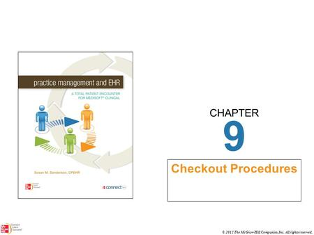 CHAPTER © 2012 The McGraw-Hill Companies, Inc. All rights reserved. 9 Checkout Procedures.