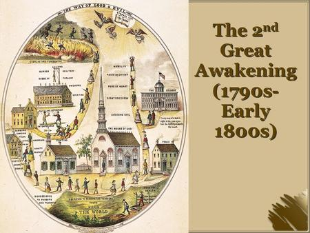 The 2 nd Great Awakening (1790s- Early 1800s). Charles Finney Charles Finney conducted his own revivals in the mid 1820s and early 1830s He rejected the.