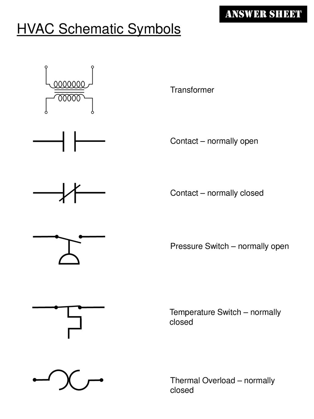 HVAC Schematic Symbols - ppt download | Refrigeration Components Wiring Diagram Symbols |  | SlidePlayer