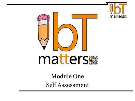 Module One Self Assessment. Take the following conflict management self assessment. If you have computer and internet access it can be found here: