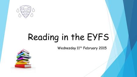Reading in the EYFS Wednesday 11 th February 2015.