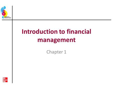 Introduction to financial management