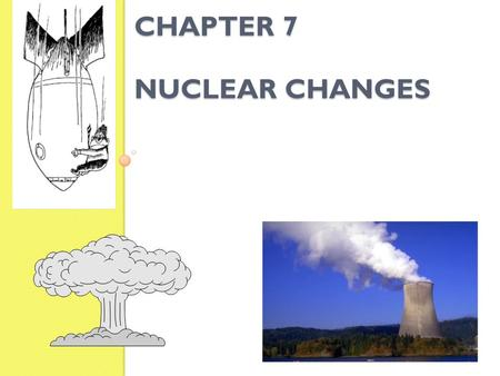 Chapter 7 Nuclear changes