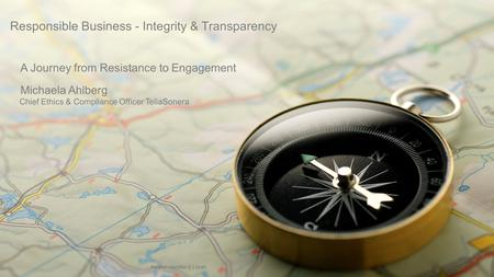 Responsible Business - Integrity & Transparency