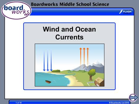 Boardworks Middle School Science Wind and Ocean Currents