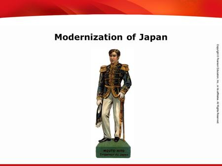 TEKS 8C: Calculate percent composition and empirical and molecular formulas. Modernization of Japan.