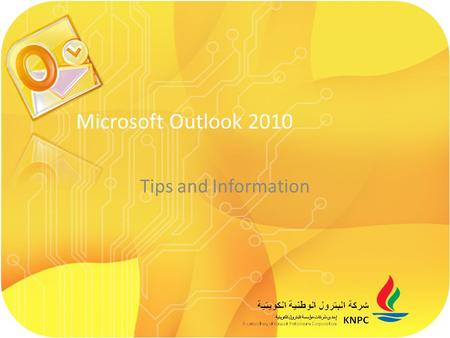 Tips and Information Microsoft Outlook 2010. Quick Steps: Quick Steps are available to use from the Home tab. Outlook 2010 has a number of predefined.