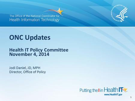 Data Gathering HITPC Workplan HITPC Request for Comments HITSC Committee Recommendations gathered by ONC HITSC Workgroup Chairs ONC Meaningful Use Stage.
