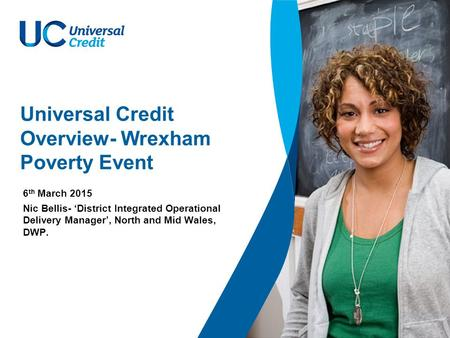 Universal Credit Overview- Wrexham Poverty Event