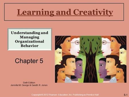 Learning and Creativity