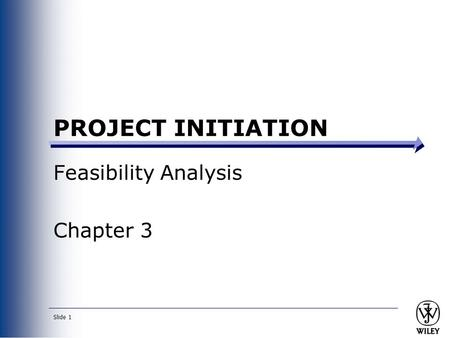 Feasibility Analysis Chapter 3