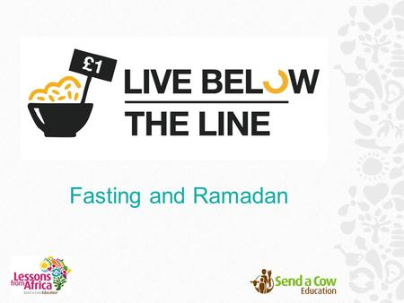 Fasting and Ramadan. What is the most special time of year for you?