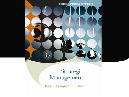 The Casino Industry McGraw-Hill/Irwin Strategic Management, 3/e
