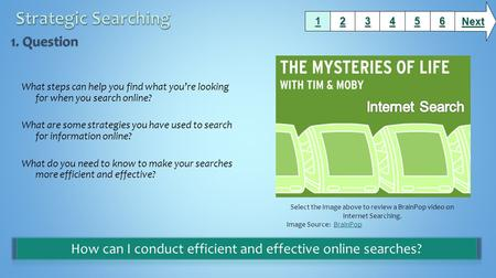 How can I conduct efficient and effective online searches?