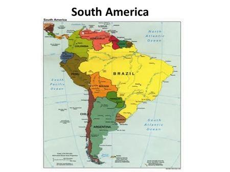 South America. South American history and culture are marked by American Indian (e.g. – Inca) encounters with the Europeans. Conquest and colonization.