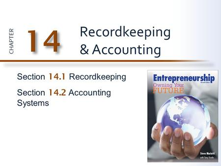 Recordkeeping & Accounting