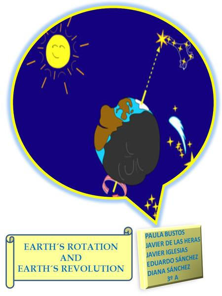 PAU EARTH´S ROTATION AND EARTH´S REVOLUTION. JAVIER IGLESIAS We are going to explain the Earth´s Rotation and the Earth´s Revolution. THE EARTH´S ROTATION.
